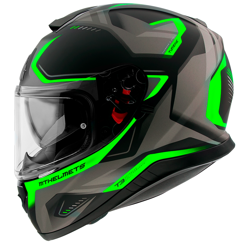THUNDER 3 SV TURBINE C6 MATT FLUOR GREEN