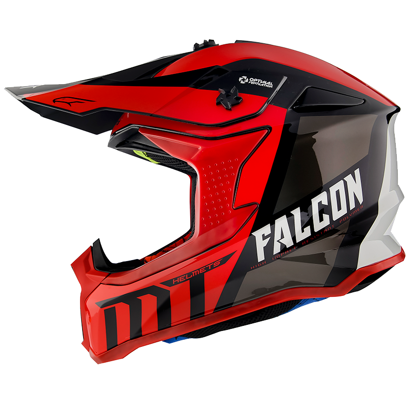 FALCON WARRIOR C5 GLOSS PEARL RED
